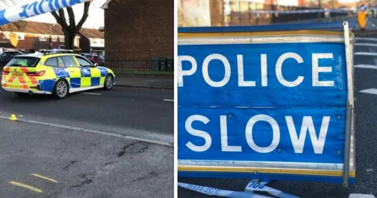 """One Man Dies In A """"Hit And Run"""" And Another Is Beaten With A Knife Nearby When A Policeman Hunts A Driver In Tipton"""