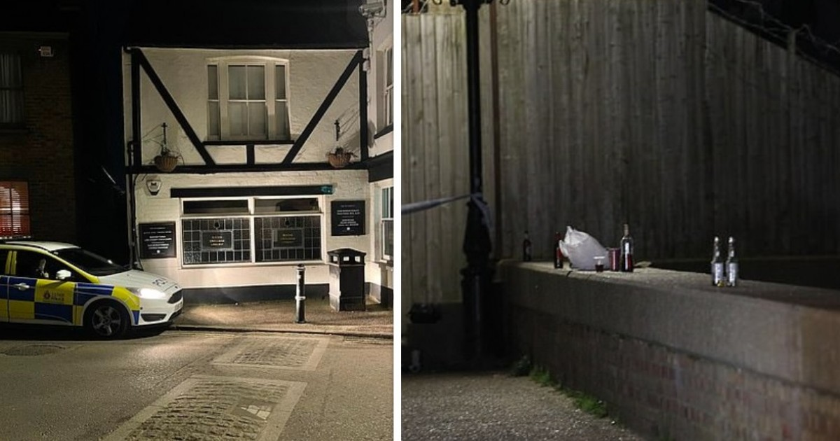 Murder Probe As Teenager 'Stabbed To Death' Near Pub And Two Arrested