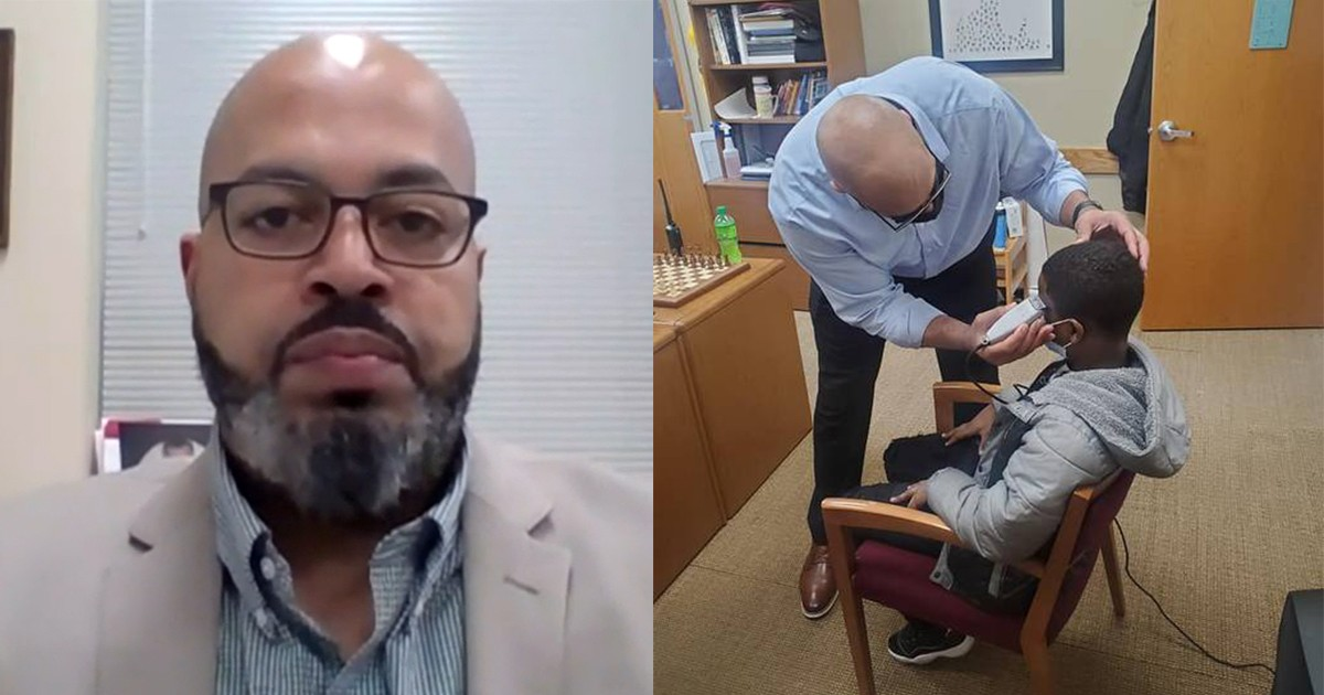 Principal Fixes Insecure Student's Hair Rather Than Taking Disciplinary Action For Violating Dress Code