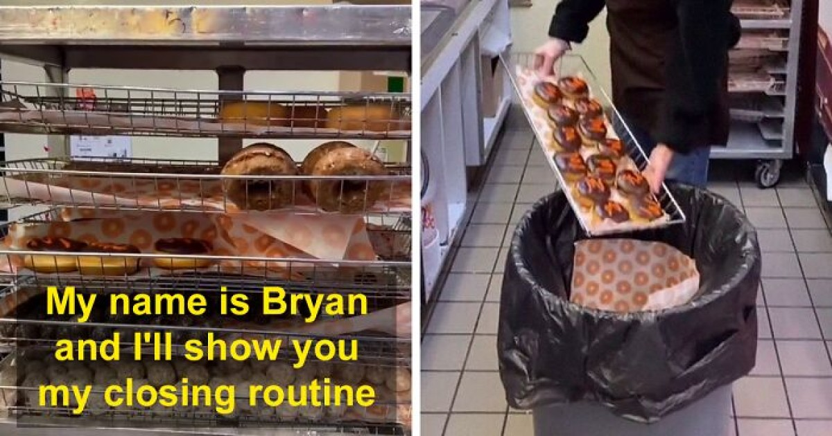 Guy Gets Fired For Giving Away Donuts To Homeless People Instead Of Throwing Them In Trash