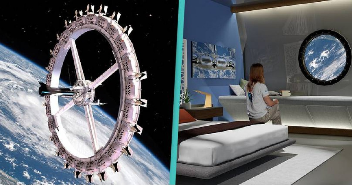 World's First Space Hotel With Bars And Cinemas Begins Construction, All Set To Open In 2027