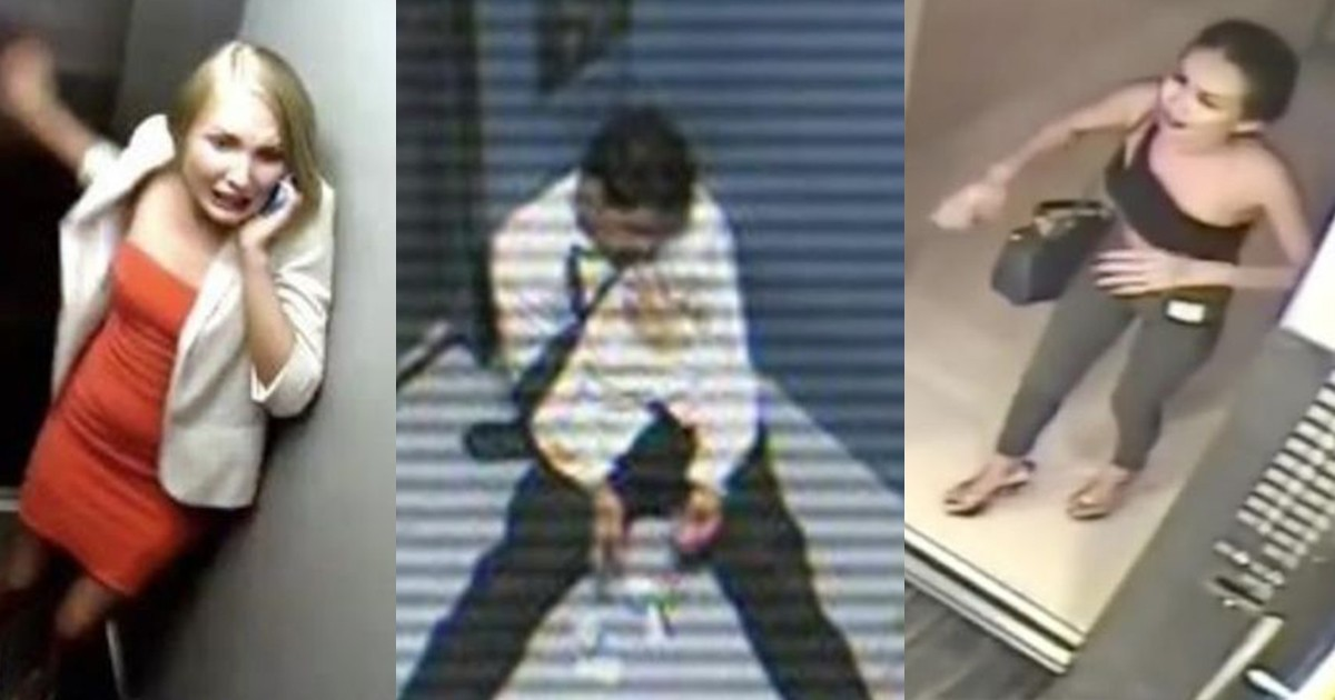 Bizarre Events That Occurred in an Elevator