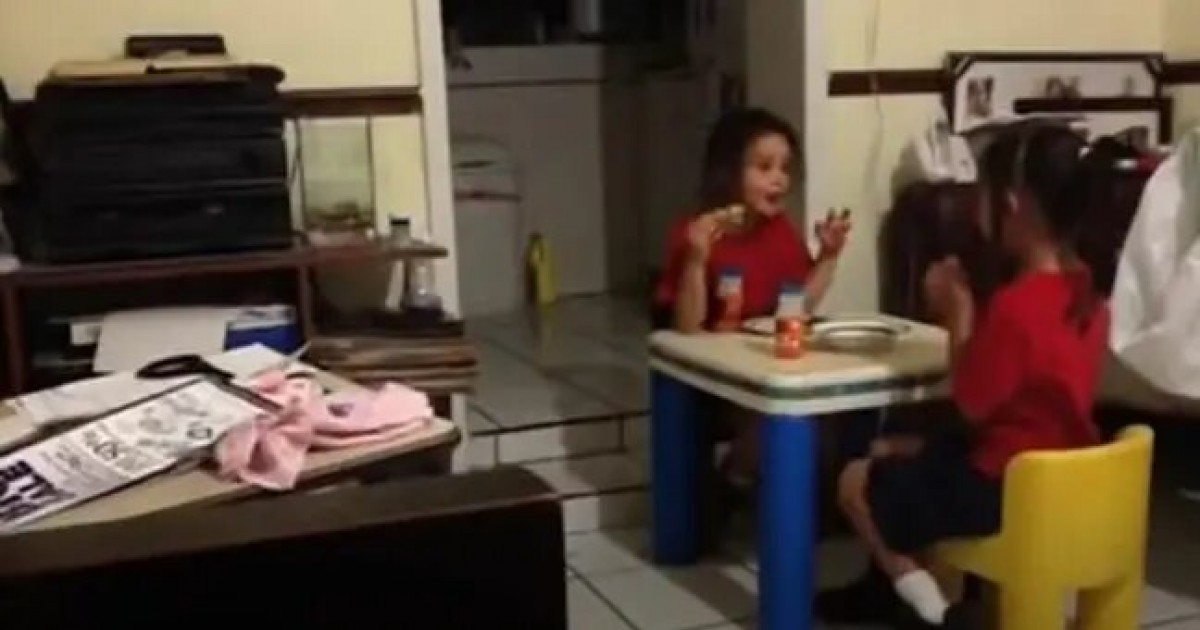 Chilling Video Shows Girls Screaming And Running In Terror After Spotting Ghost Mom Cannot See