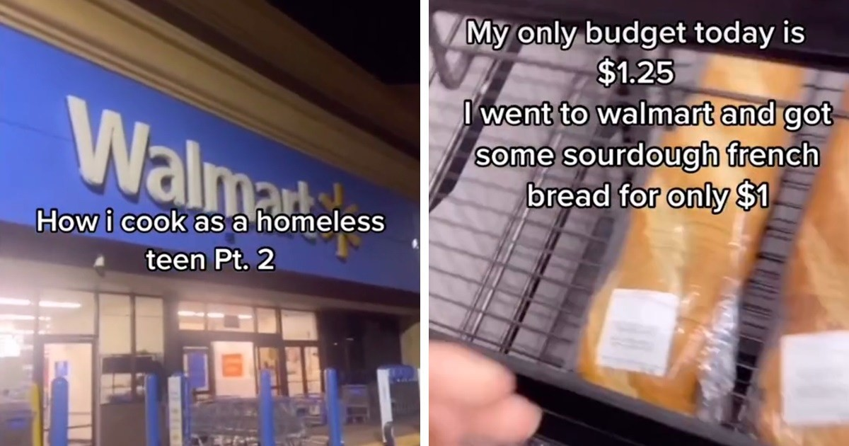 Homeless Teenager Living In Car Goes Viral With 19M Views After Showing How He Cooks His Meals