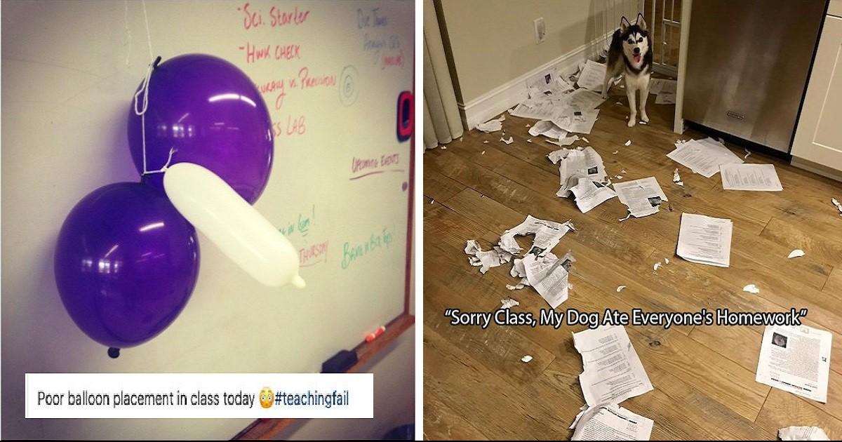 Teachers Who Made Entertaining Mistakes On The Job