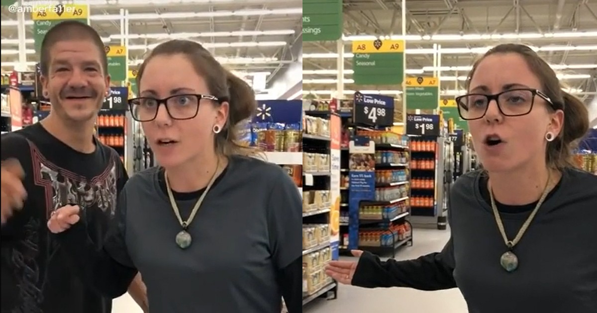 A Woman Slutshames Minors In Walmart & Defends Her Partner For Hitting On Them