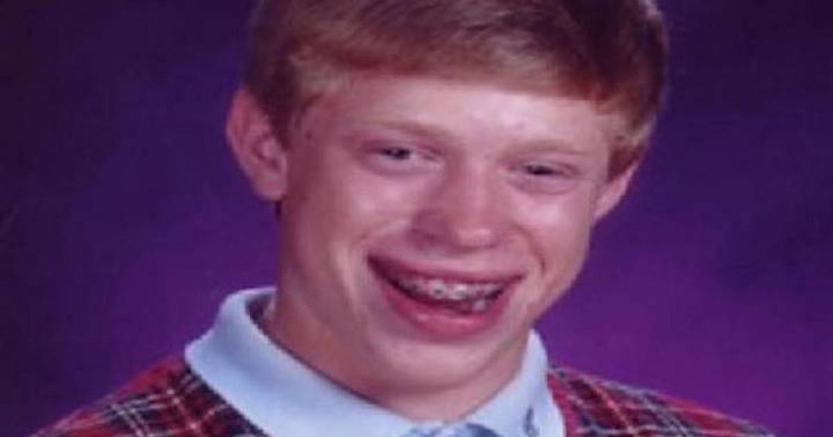 Original 'Bad Luck Brian' Internet Meme Photo Sells For $36,000