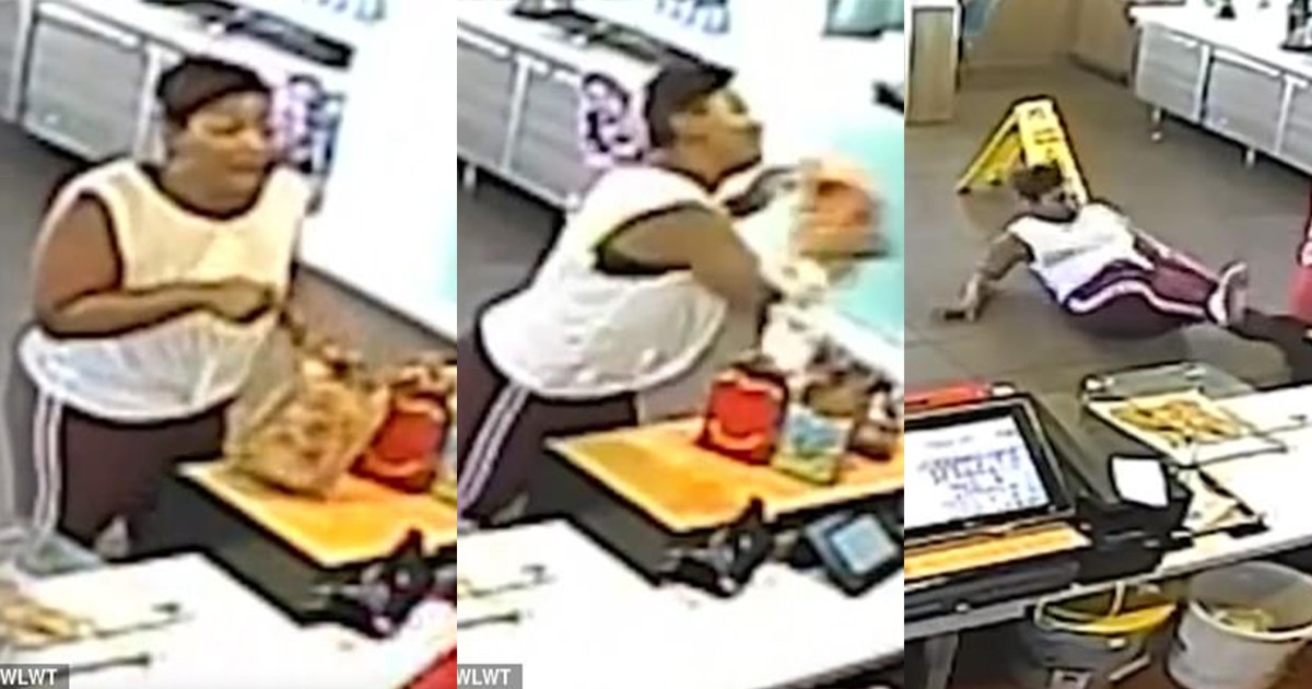 A Mcdonald's Manager Throws Blender At Woman's Face After Argument