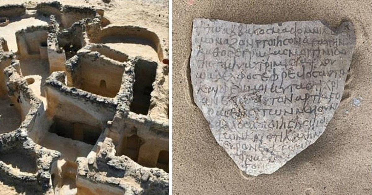 Ancient Christian Ruins Discovered In Egypt Reveal 'Nature Of Monastic Life'