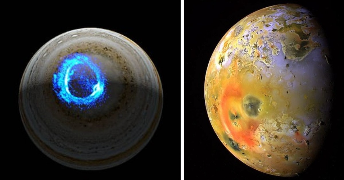 Nasa: Jupiter's Spectacular UV Auroras Are Generated By Charged Particles From Its Volcanic Moon lo