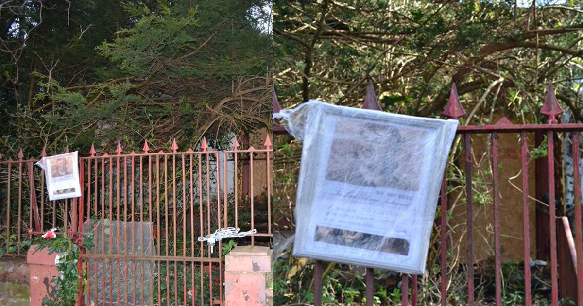 An Abandoned House In Liverpool Has A 'Curse' At The Gates