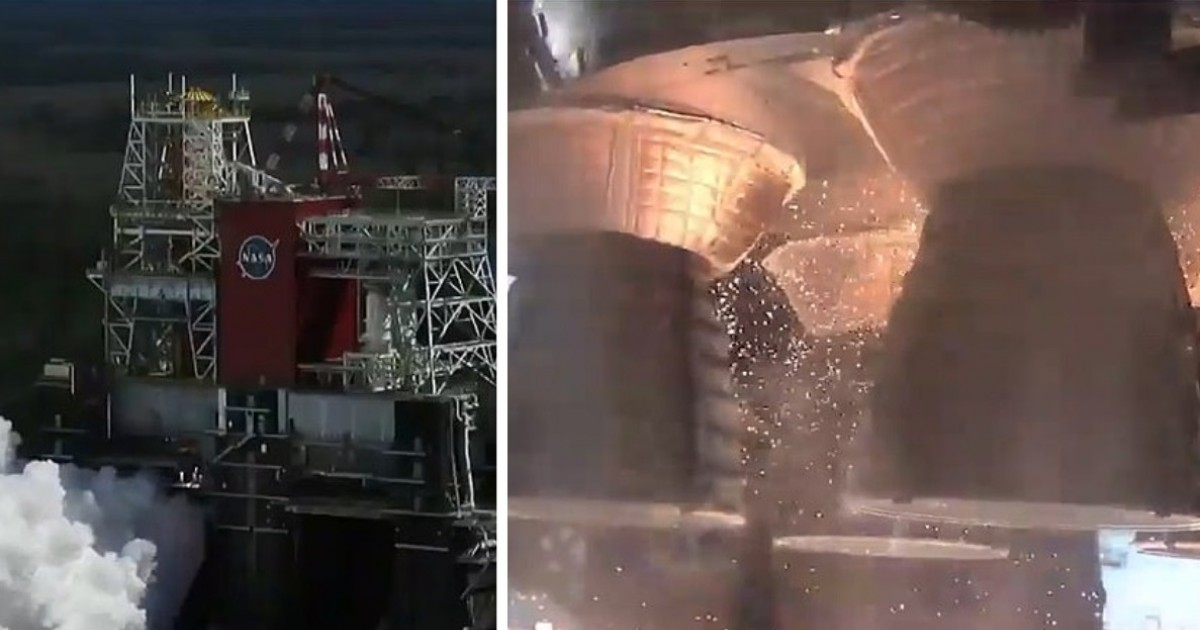 NASA Successfully Tests The Space Launch System Of The World's Most Powerful Rocket