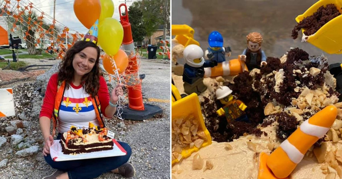 New Orleans Woman Throws Party For One Year Anniversary Of Incomplete Road Work In Front Of Her Home