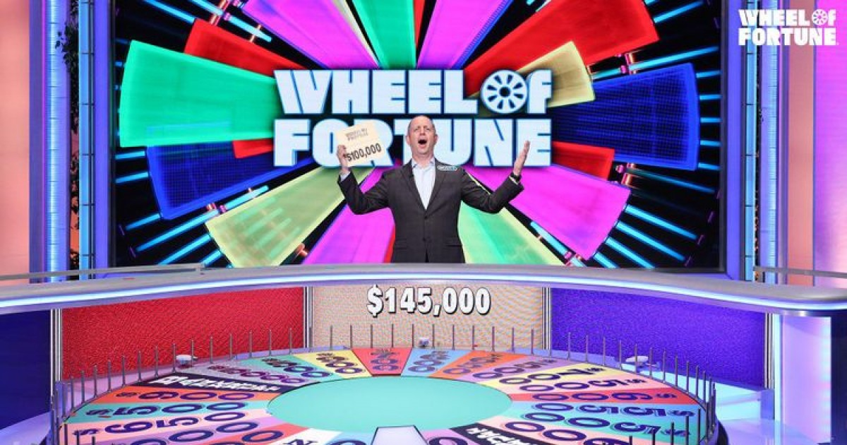 'Wheel Of Fortune' Winner Donates All His Prize Money Of $145,000 To Charity