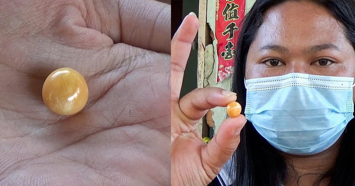 Thai Woman Finds Pearl Worth Thousands In Her Snacks