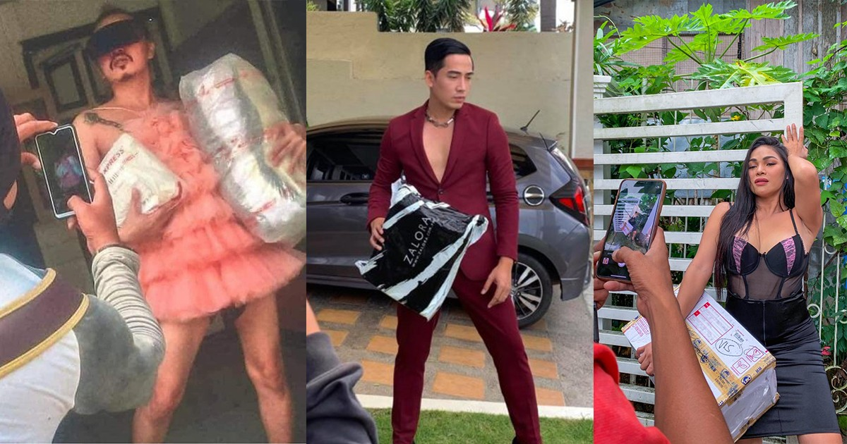 Proof Of Delivery Turned Photoshoot: People In The Philippines Are Making The Most Of Online Shopping.