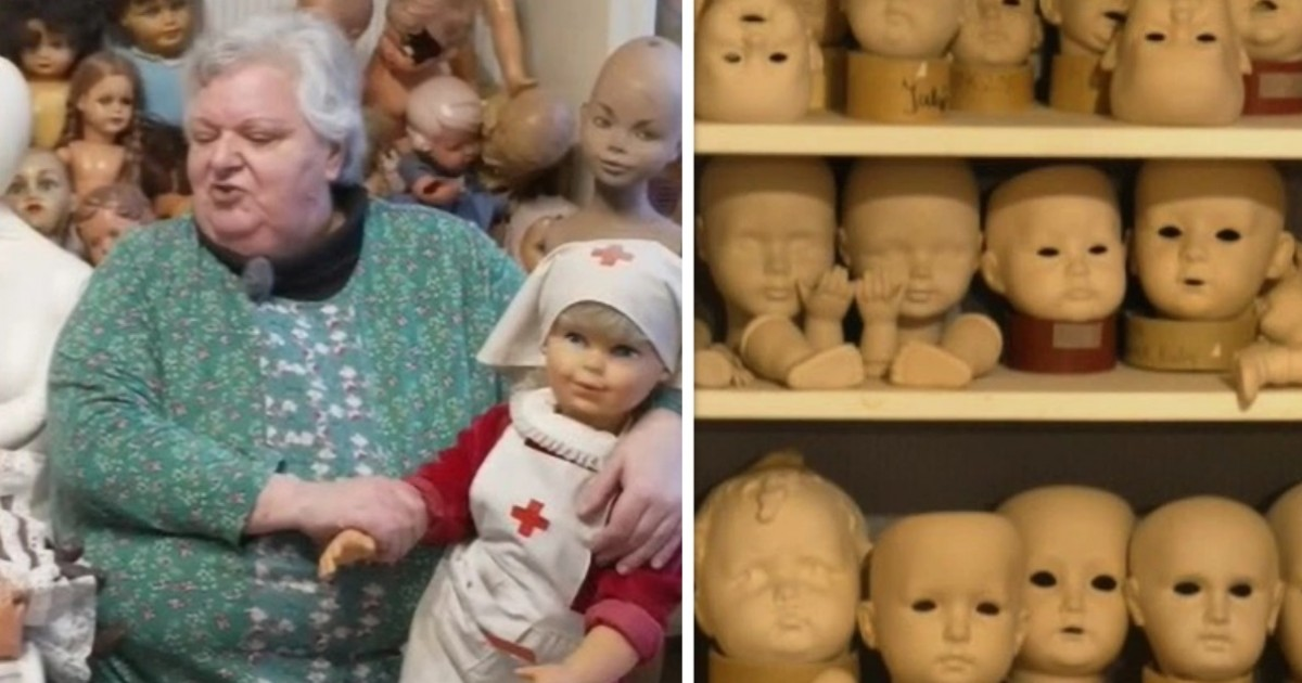 Woman Rents Out Three-Story Home To Exhibit Her Creepy Collection Of 2,000 DOLLS