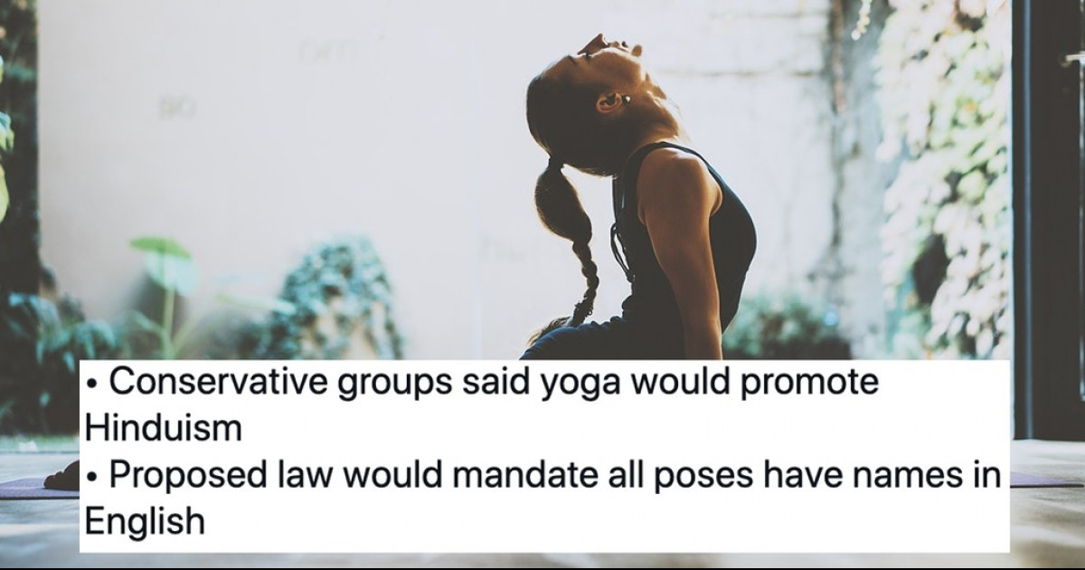 Alabama To Uphold Ban On School Yoga Over Fear Of Hinduism
