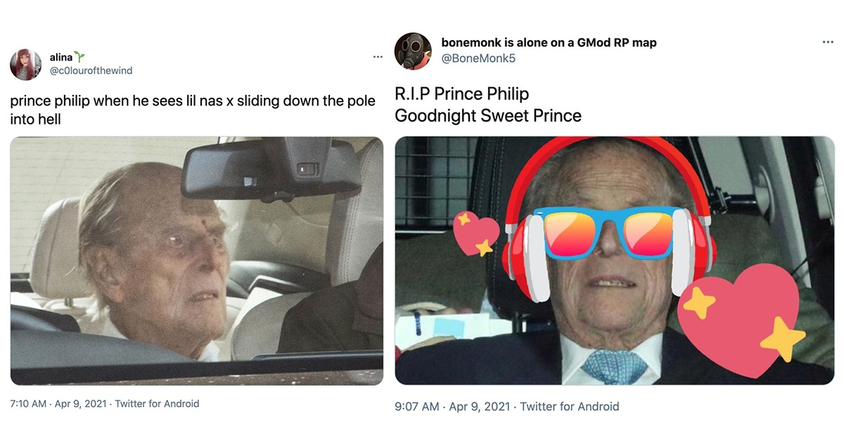 If You Laugh At These Memes About Prince Philip Then You're Going To Hell