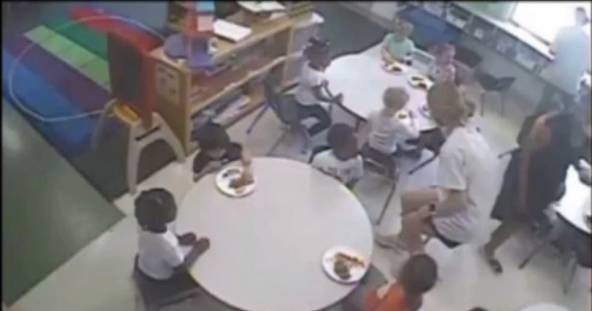 Outrageous Daycare Centre Footage Shows White Kids Given Food Before Black Classmates