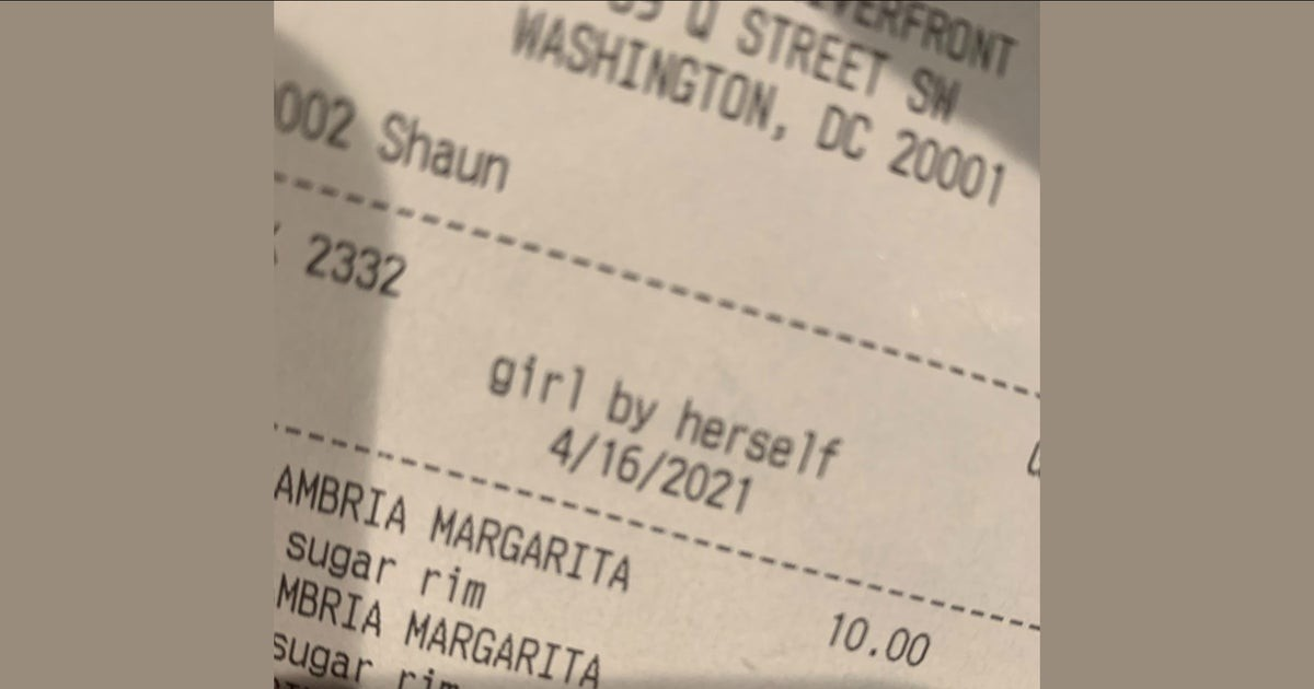 Bar's 'Inappropriate And Disrespectful' Description Of Woman On Her Receipt Goes Viral