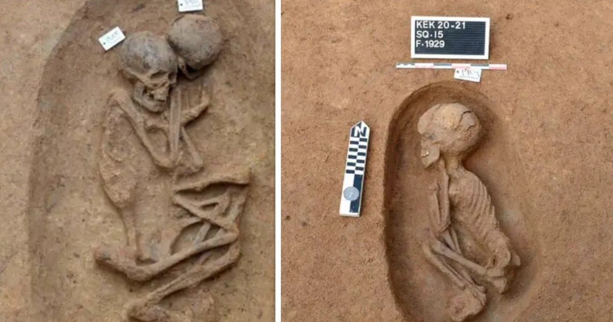 Archaeologists Discover Rare Tombs From Before The Pharaohs