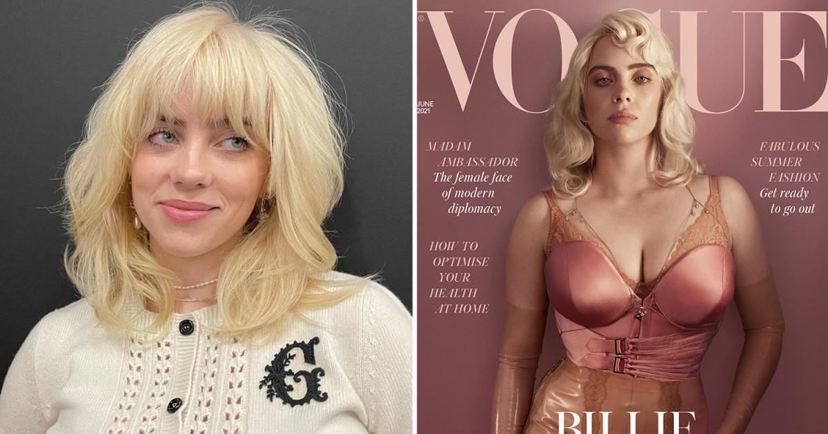 Billie Eilish Breaks Instagram Record As She Shares Vogue Cover Shoot