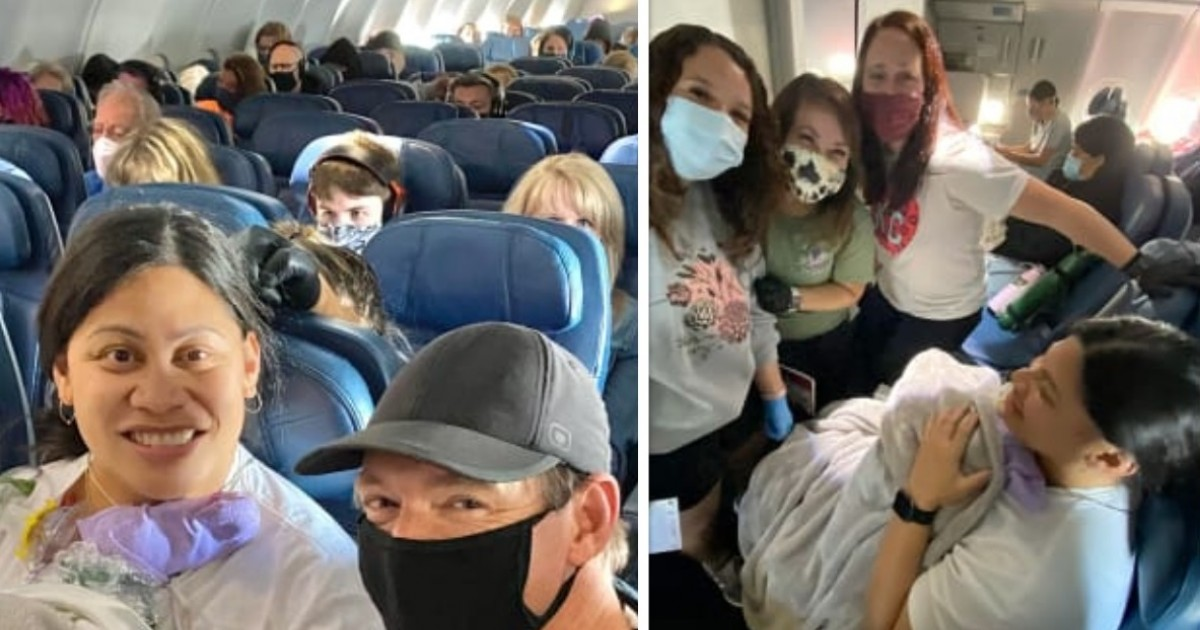 Woman Who Was Unaware Of Pregnancy Gives Birth On Flight With Help From Nurses, Doctor