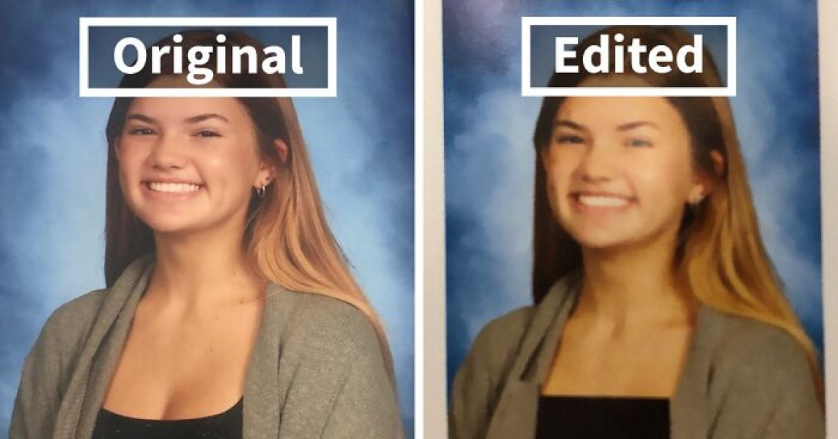 Florida High School Facing Criticism From Parents After It Photoshops Cleavages In The Yearbook Pics Of 80 Girls