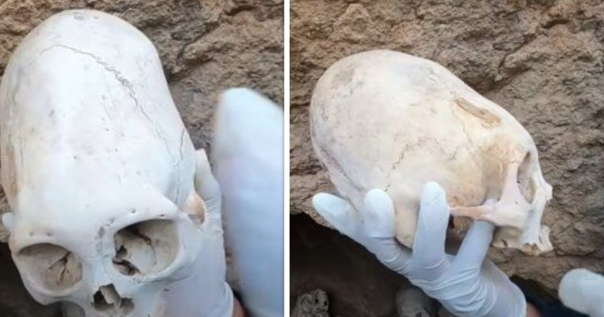 A Viral Post About Ancient Peruvian Skulls Has Claimed They're Evidence Of Aliens Visiting Earth