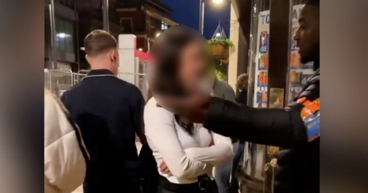 Crazy Woman Accused of Racially Abusing Bouncer In Viral Video Is Bailed and Barred From Birmingham