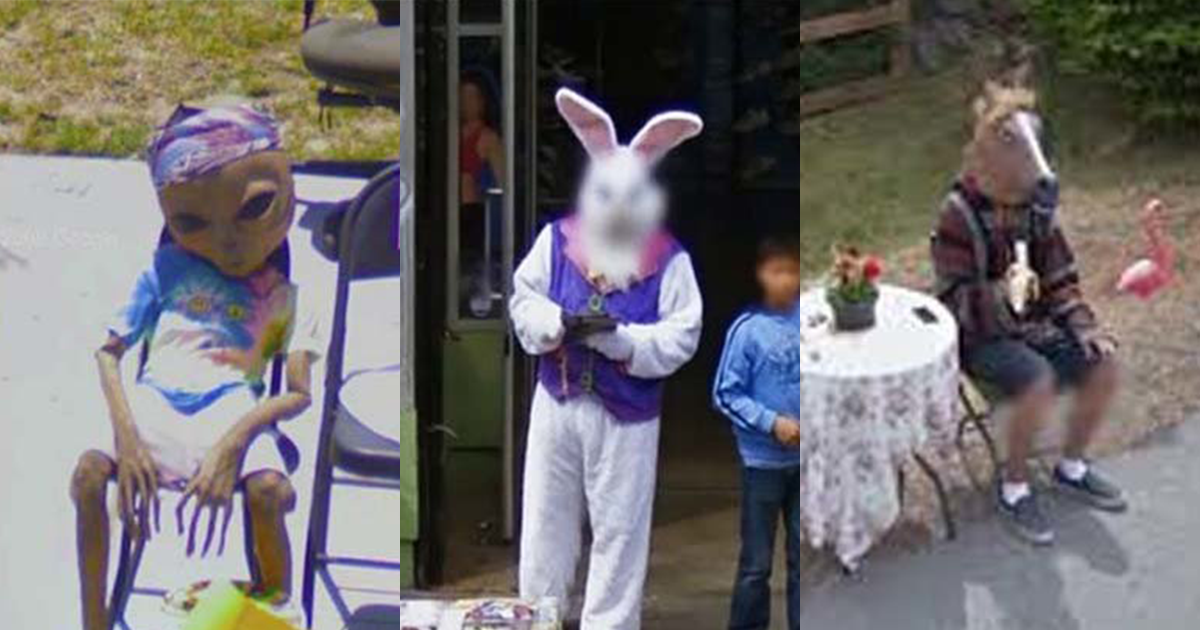 You Can't Hide Anything From Google Street View. You Won't Believe These Crazy Pictures Weren't Planned - Part 1