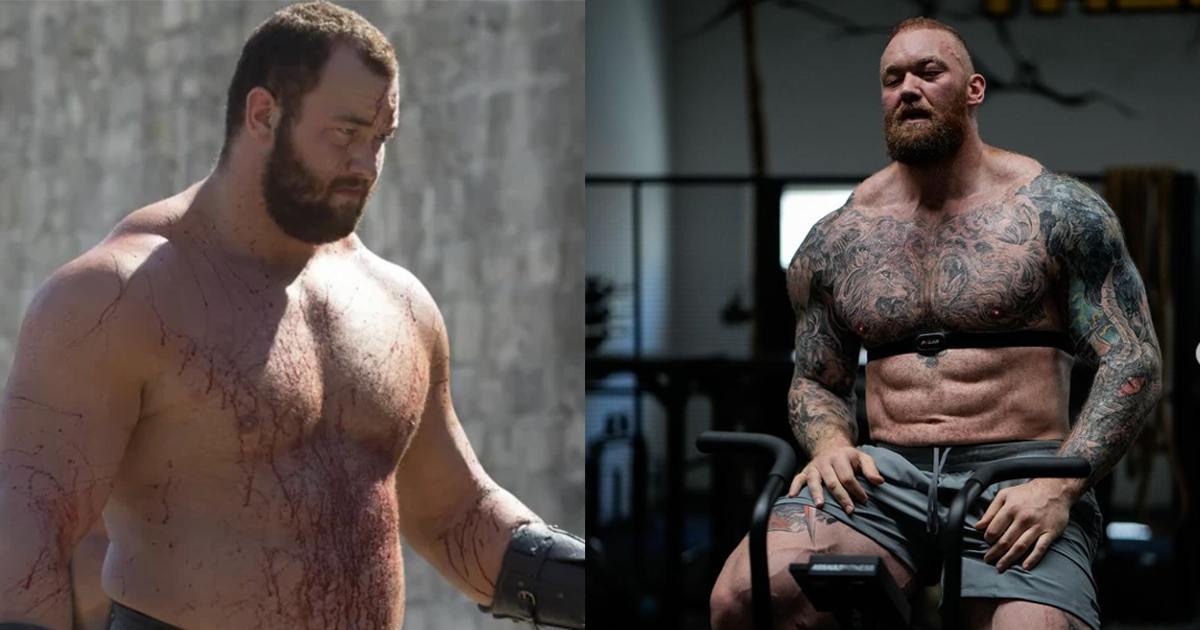 The World's Strongest Man Lost 100lbs But Keeps Getting Stronger. See How The 'Game Of Thrones' Star Looks Now.