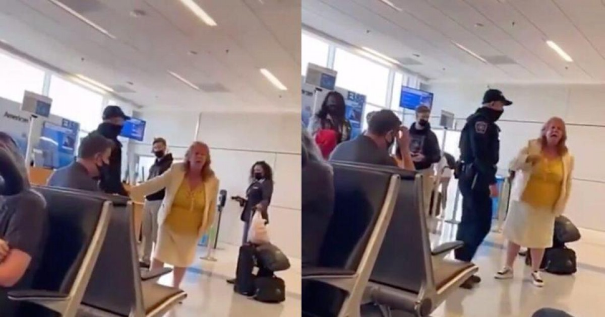 """Furious Karen Demands To Speak To """"Manager Of Entire Airport"""" After Getting Tackled By Security For Entering Restricted Area"""