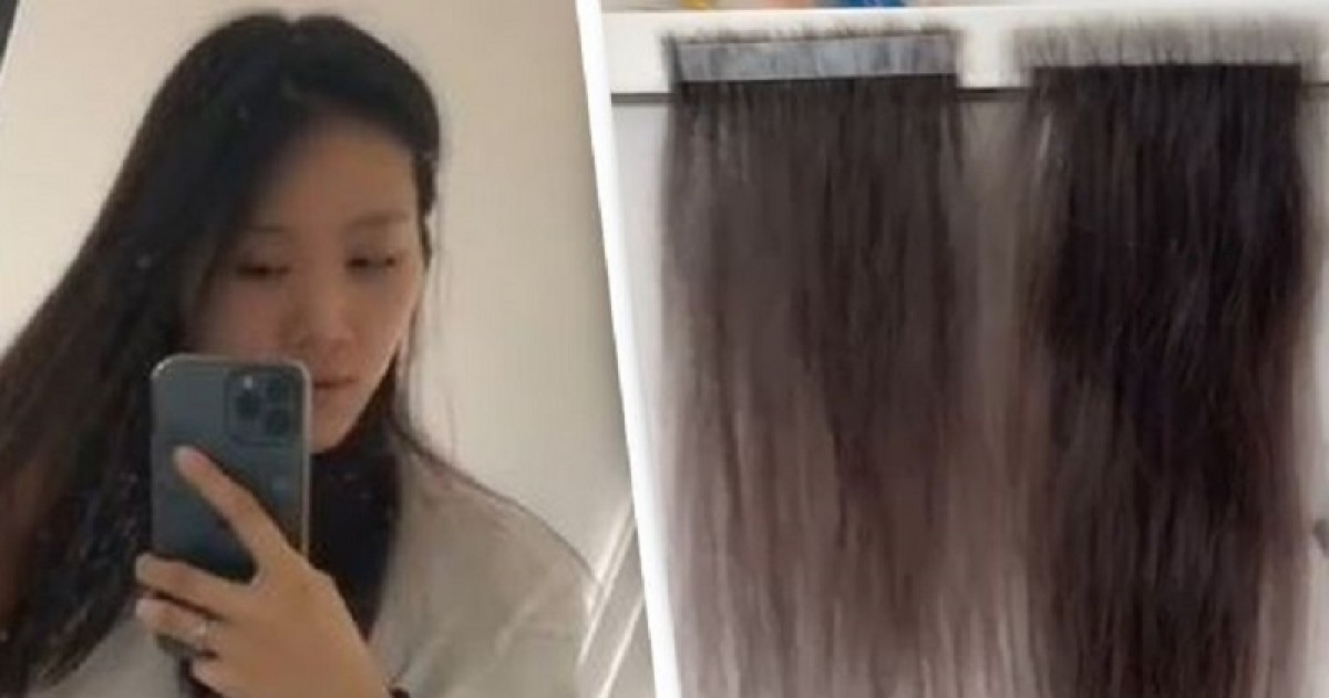 This Australian Beauty Blogger Collects Each Hair That Falls Out Of Her Head And Has Collected Enough To Make Extensions