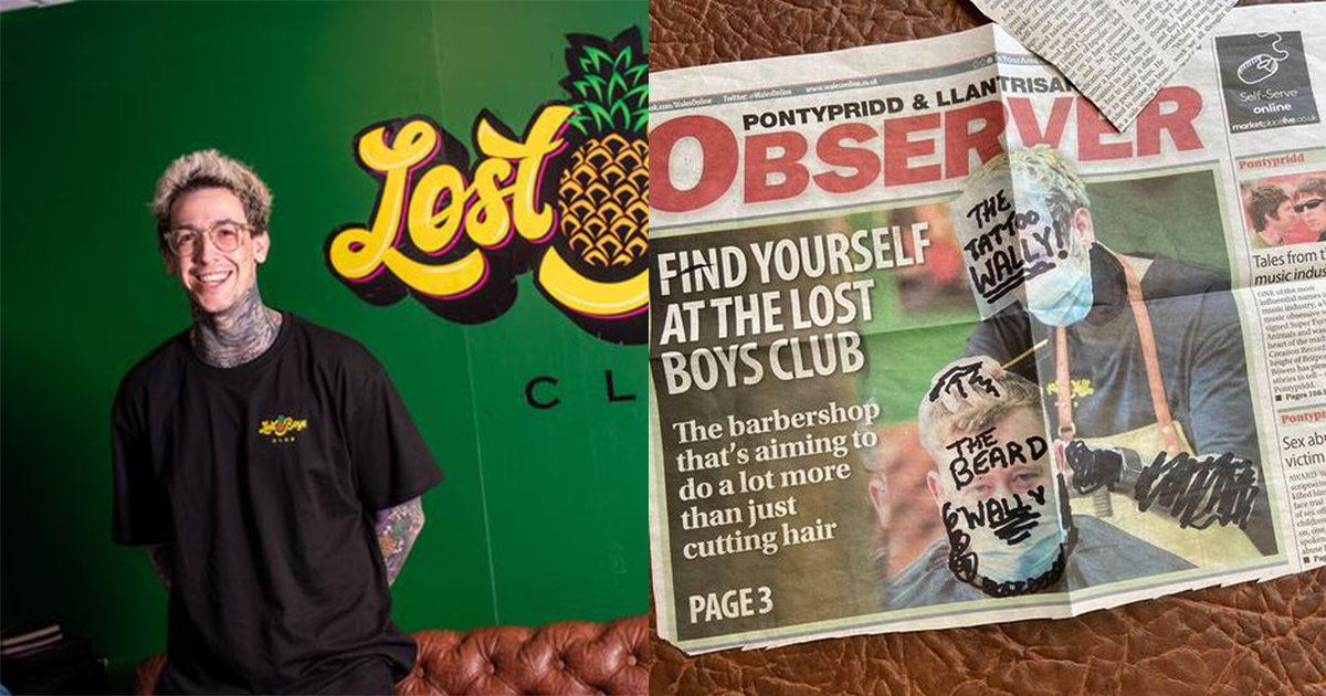 Local Tattooed Barber Receives Hate Mail After Appearance In Local Newspaper