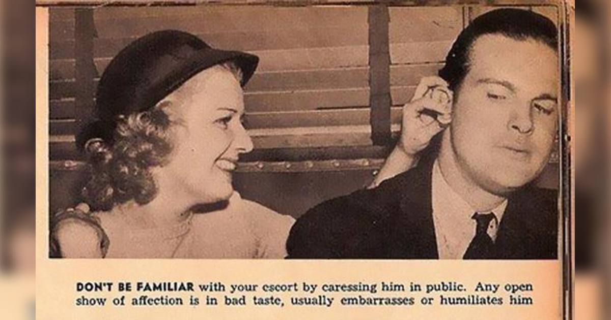 This 1938 Dating Guide For Women Is The Worst Thing You'll Read All Day.