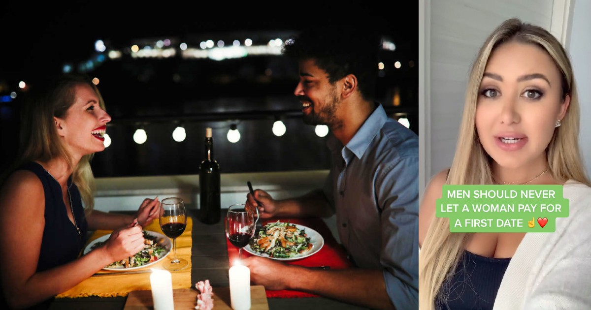 Dating And Relationship 'Expert' Says Men Should Always Pay On The First Date.