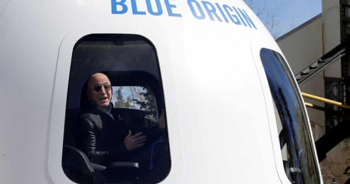 Jeff Bezos All Set To Go Into Space On First Crewed Flight Of New Shepard Rocket