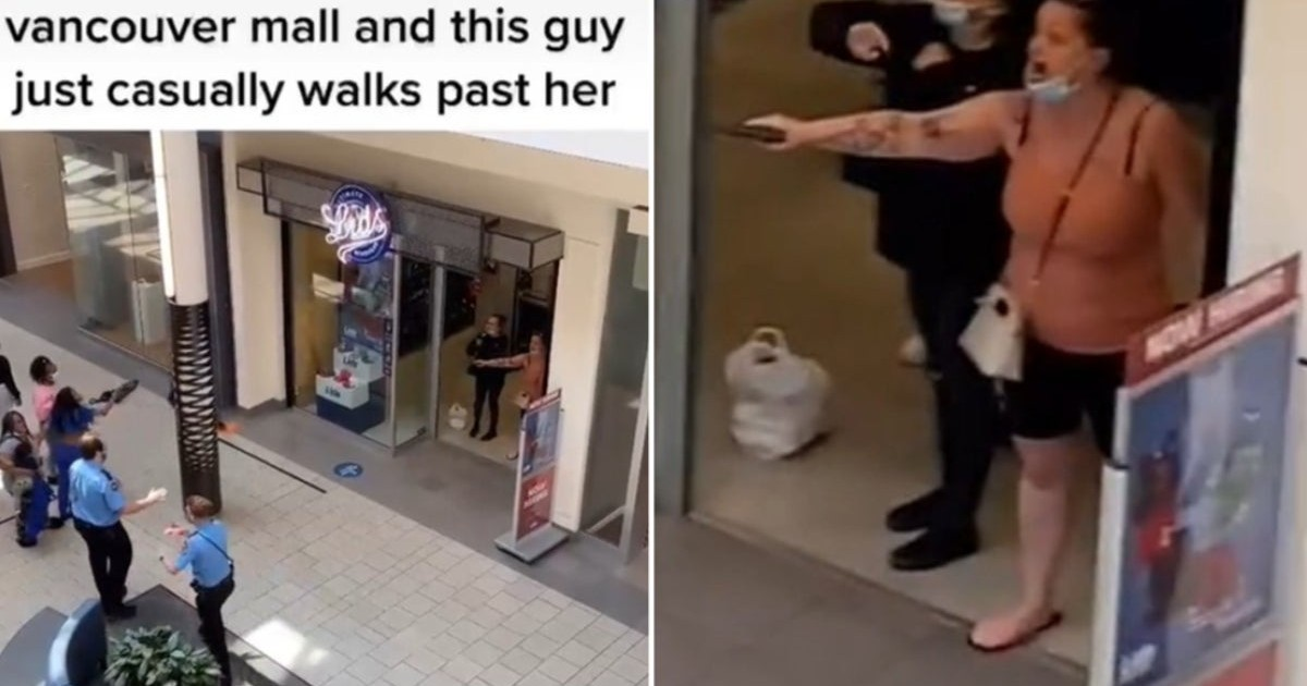 Bizarre Tiktok Video Shows White Woman Pulling A Gun On Group Of Black Girls In Shopping Mall