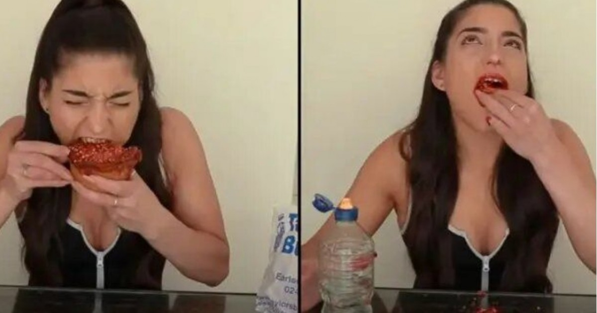 Female Competitive Eater Reveals Worst Consequences She's Suffered From A Challenge
