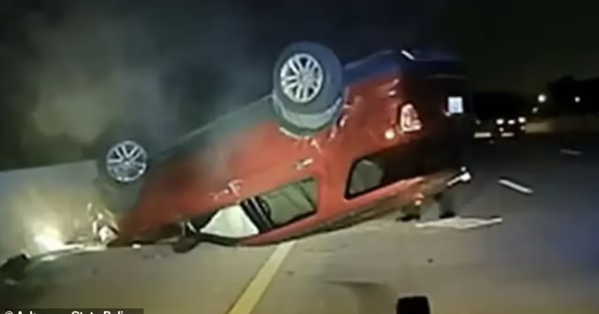 Police Officer Flipped Pregnant Woman's Car During Car Chase