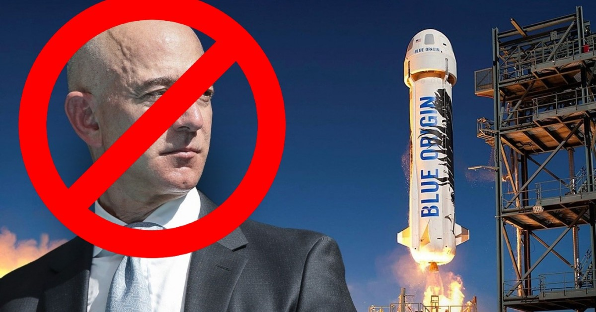 Thousands of People Sign Petition To Stop Jeff Bezos From Entering Earth Again After His Space Trip