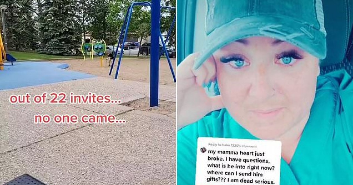 Disappointed Mom Shares Heartbreaking Pictures After No One Shows Up At Her 6-Year Old Son's Birthday Party