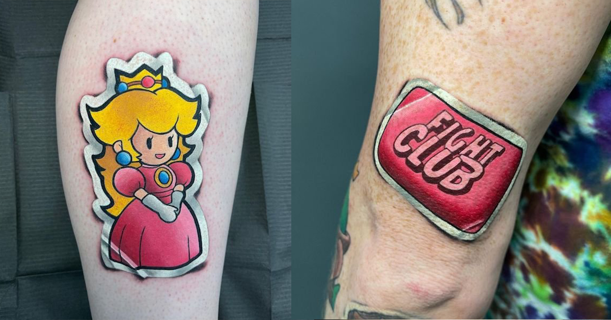 Super Fun Tattoos That Drunk You Will Definitely Try To Peel-off