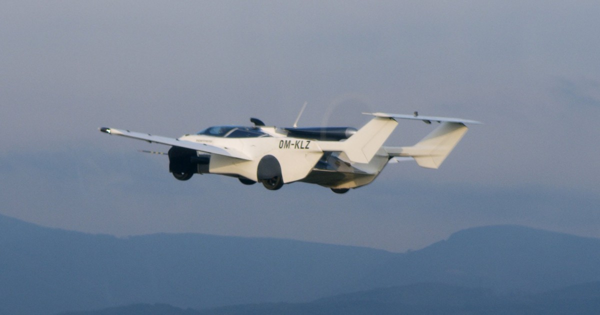 Flying Car Prototype Completes First Ever Succesful Test Flight Between Airports Of Two Cities