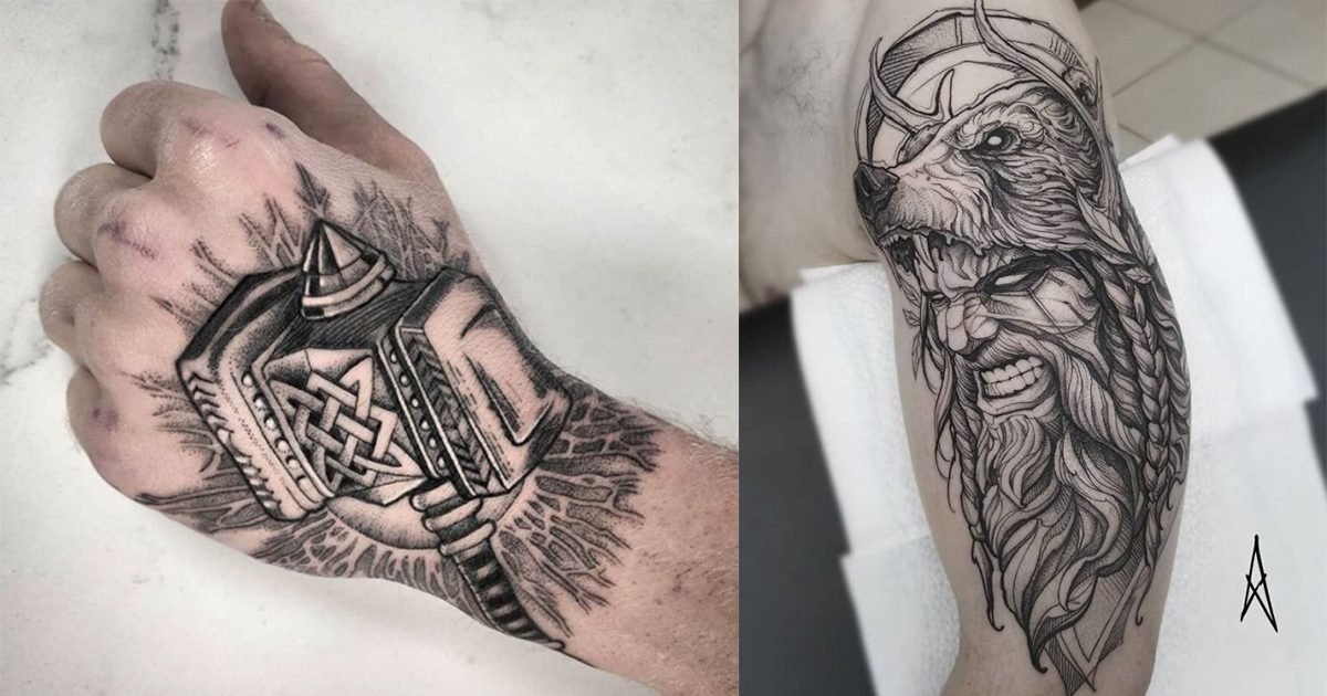 Truly Bad*ss Viking Tattoos (I'm definitely getting one)