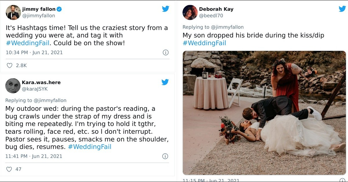 Hilarious Wedding Fails That Will Made Your Day Truly Memorable