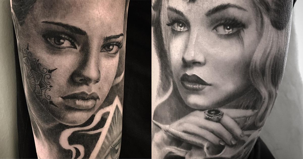 Realistic B&W Tattoo Ideas For Your Next Tattoo - Part 2