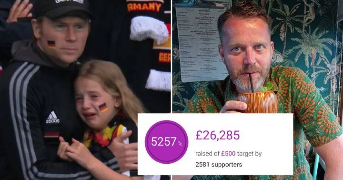 Man Explains The Reason Why He Set Up Crowdfunder For Crying German Girl As Campaign Hits $35K